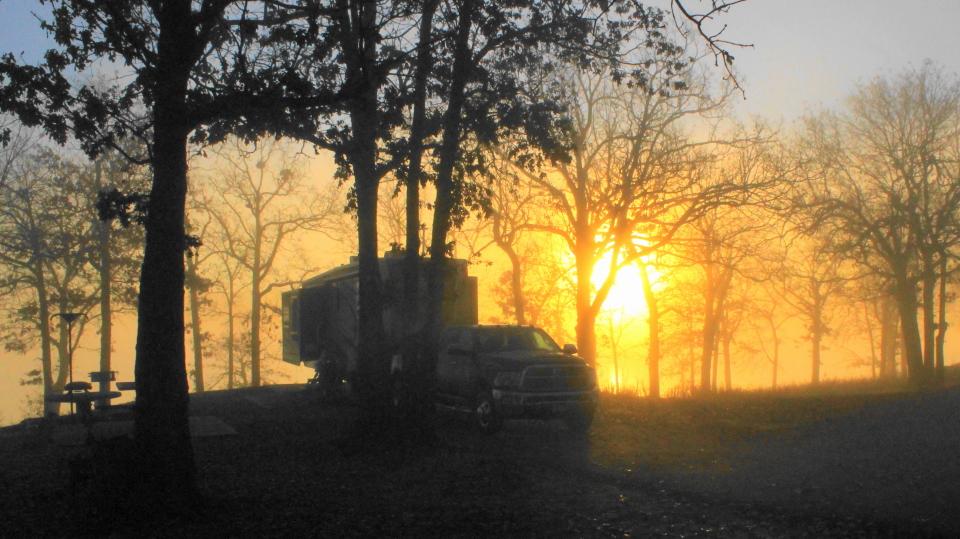 Sunrise Eufaula State Park, OK