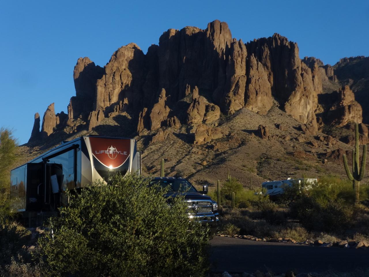 Lost Dutchman State Park, AZ