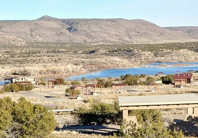 Lake Cochiti Corp Campground, New Mexico – March 2018
